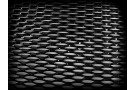 """Сетка """"черная"""", крупная удлиненная ячейка с широкими """"развернутыми перемычками. 120 х 40 см."""