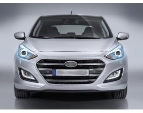Ангельские глазки на Hyundai i30 II Рестайлинг 2015 – 2017 Универсал 5 дв.