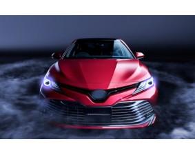 Ангельские глазки на Toyota Camry VIlI (XV70) 2017+