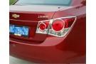 Хромированные накладки на задние фонари Chevrolet Cruze 1 2009-2015 седан