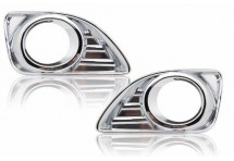 Хром накладки на ПТФ для Nissan Almera