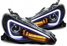 Светодиодные ходовые огни с поворотником для Nissan Almera