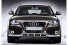 Светодиодные противотуманные фары с ангельскими глазками для Audi A4 allroad B8 (2009-2011)