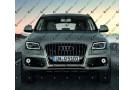 Светодиодные противотуманные фары с ангельскими глазками для Audi Q5 Typ 8R рестайлинг (2012-2016)