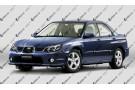 Светодиодные противотуманные фары с ангельскими глазками для Subaru Impreza 2 рестайлинг (2005-2007)
