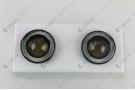 Светодиодные противотуманные фары с ангельскими глазками для Mercedes-Benz G-Класс W463 [рестайлинг] Внедорожник 2-дв. (2008-2012)
