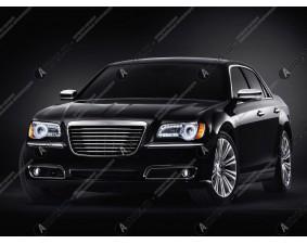 Ангельские глазки на Chrysler 300C