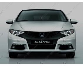 Ангельские глазки на Honda CIVIC