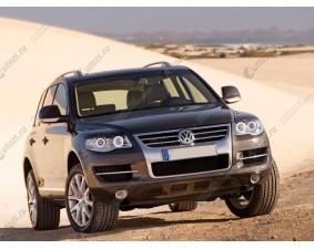 Ангельские глазки на Volkswagen Touareg