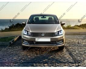 Ангельские глазки на Volkswagen Polo