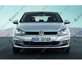Ангельские глазки на Volkswagen Golf