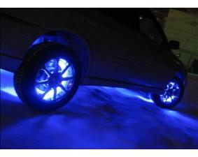 Синяя лента для подсветки четырех дисков