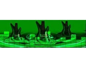 """Эквалайзер """"Всплеск и график"""" (90x25 см)"""