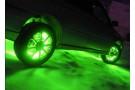 Зеленая лента для подсветки четырех дисков