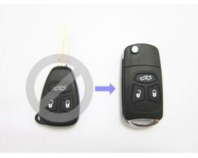 Выкидной ключ Chrysler 3 кнопки D #347