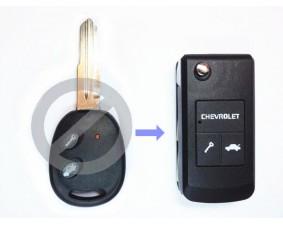 """Выкидной ключ Chevrolet """"Chevrolet"""" 2 кнопки"""
