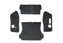 Кожаные коврики в багажник для Nissan Almera