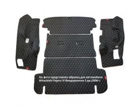 Кожаные коврики в багажник для Fiero
