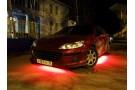 Красная светодиодная лента для подсветки днища