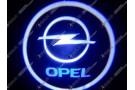Лазерная проекция логотипа Opel