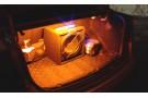 Желтая светодиодная лента для подсветки багажника