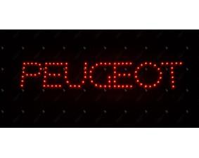 Стоп сигнал - логотип Peugeot