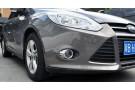 Хромированные накладки на передние ПТФ Ford Focus 3 2011-2015 А