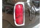Хромированные накладки на задние ПТФ Kia Sorento 2 2012-2015 B