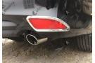 Накладки на задние ПТФ Toyota Camry XV50 2014+