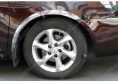 Установка хромированных накладок на арки колес