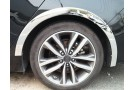 Хромированные накладки на арки колес Honda Fit 3 2013+