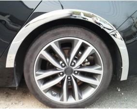 Накладки на арки колес Volkswagen Passat B6 2005-2011 A