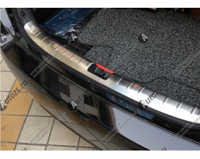 Хромированная накладка на задний борт багажника Honda Accord 9 2013-2015
