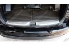 Хромированная накладка на задний борт багажника Subaru Forester SJ 2013-2018 A