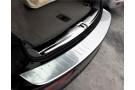 Хромированная накладка на задний бампер Audi Q5 Typ 8R 2008-2016 B