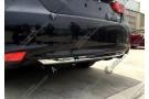 Накладка на низ заднего бампера Toyota Camry XV50 2014+