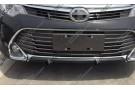 Накладка на верх юбки переднего бампера Toyota Camry XV50 2014+