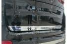 Хромированная накладка на кромку двери багажника BMW X5 F15 2013+