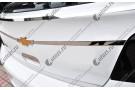 Хромированная накладка на дверь багажника Chevrolet Cruze 1 2009-2015 узкая