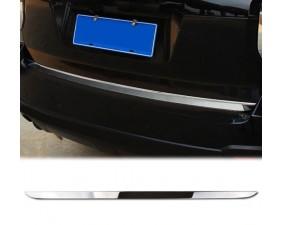 Хромированная накладка на кромку двери багажника Subaru Forester SJ 2013+