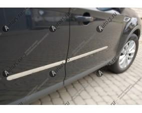Хромированные накладки на двери Chevrolet Cruze 1 2009-2015 седан