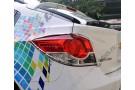Хромированные накладки на задние фонари Chevrolet Cruze 1 2009-2015 хетчбэк