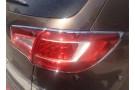 Хромированные накладки на задние фонари Kia Sportage 3 2010-2015 C