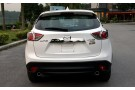 Хромированные накладки на задние фонари Mazda CX-5 2011+ A