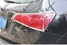 Хромированные накладки на задние фонари Audi Q5 Typ 8R 2008-2012