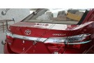 Хромированные накладки на задние фонари Toyota Corolla E160 2013+ (реснички)