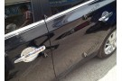 Хромированные накладки для ниш дверных ручек Nissan Almera G15 2013+