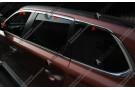 Хромированные молдинги окон Mitsubishi Outlander 3 2012+ (8 молдингов)