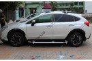 Хромированные молдинги окон Subaru XV 2011+ (12 молдингов)