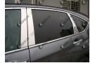 Хромированные молдинги окон Hyundai Santa Fe 3 2012+ (6 молдингов)